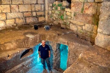 Encuentran complejo de hace 1,400 años en Jerusalén