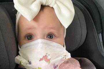 ¿Los bebés deben usar cubrebocas?