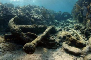 Hallan barco hundido de hace 200 años en Quintana Roo