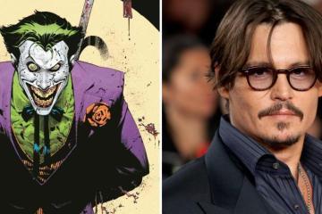 Fans afirman que Jonny Depp es perfecto para interpretar al Joker...