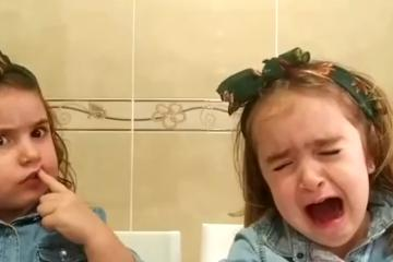 """¡Jimena mala!"" hermanas se vuelven virales en Chocolate..."