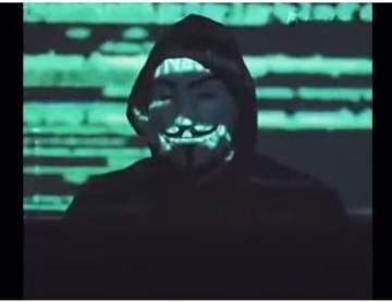 Video: Anonymous amenaza a la policía de EEUU ante caso de George Floyd