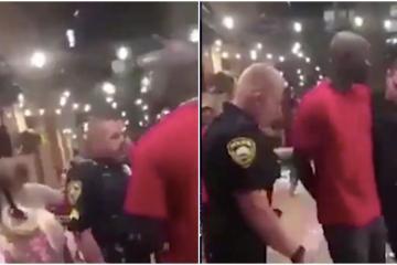 Video de supuesto agente del FBI siendo arrestado se vuelve viral