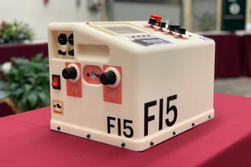 Ventilador F15: el prototipo que Ferrari le dio a México
