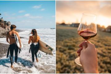 Turistas estadounidenses extrañan las playas, vinos y gastronomía...