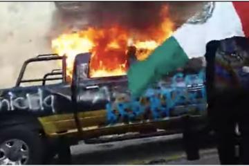 Intensa marcha para exigir justicia por Giovanni López en Guadalajara