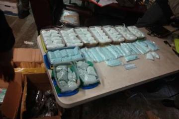 Incautan droga valuada en 743 millones de pesos en Tijuana
