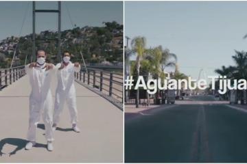 #AguanteTijuana: el mensaje de estos jóvenes a la población ante...