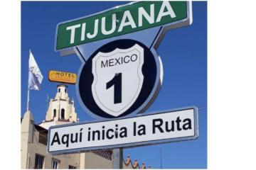 Señalamientos y mensajes en La Baja