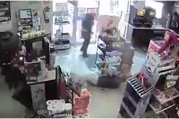 Viral: cámaras captan el momento en que un hombre es asesinado