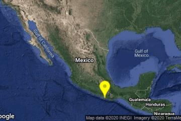 Preliminar: Sismo con magnitud de 5.2 sacude a Oaxaca