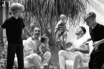Ricky Martin publica primera foto junto a sus 4 hijos