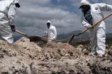 México supera las 30 mil muertes por Covid-19