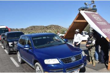 More that 11 thousand vehicles breached Ensenada´s security and...