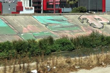 Comienza la limpieza de la canalización Río Tijuana