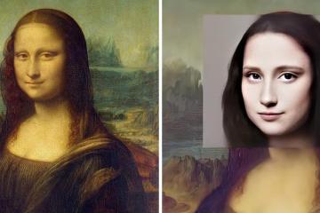 Inteligencia artificial recrea rostros de pinturas famosas