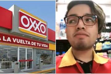 Trabajador de Oxxo se viraliza por probar productos raros que nadie...