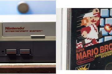 Más 114 mil dólares por copia sellada de Super Mario Bros