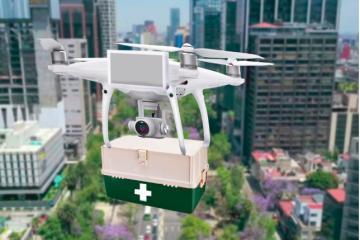 Mexicano crea proyecto para llevar pruebas de coronavirus en drones...