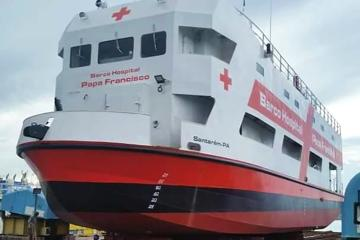 Papa Francisco envía barco de asistencia de Covid-19 a Amazonas
