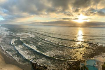 Rosarito beaches will be closed this weekend