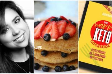 """Lanza tijuanense libro de recetas saludables en """"The Happy Keto..."""