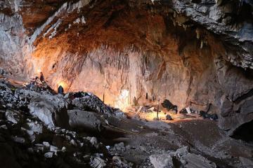 Hallan vestigios humanos de hace 30 mil años en cueva de México