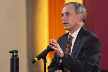 No se multará a personas por no usar cubrebocas: López-Gatell