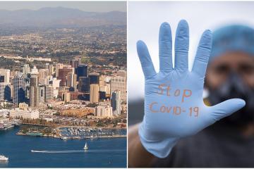 San Diego da marcha atrás a su reapertura y ordena cerrar algunos...