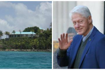 Bill Clinton fue invitado a la isla pedófila de Jeffrey Epstein.