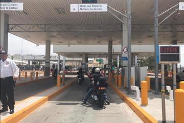 Temporary lane detour announced at border crossing to Baja California
