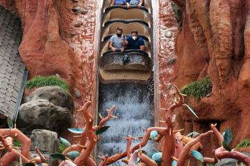 "Se hunde bote de ""Splash Mountain"" en Disney World..."