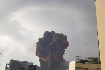 Explosión masiva arrasa en ciudad de Beirut, Líbano