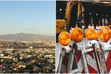 Anuncian cierre de estas vialidades en Tijuana