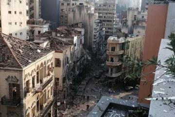 Dan a conocer cifra de muertos y causas de explosión de Beirut