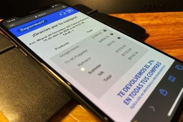 Empresa crea app para dejar de usar tickets de compra
