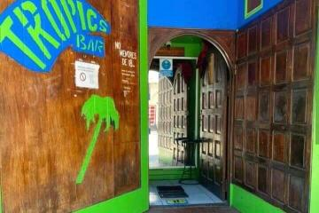 Tropics Bar on Sixth Street in Tijuana is reopening its doors...
