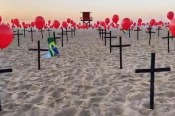 Brasil alcanza los 100 mil muertos por Covid-19