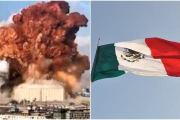Ante explosión en Beirut, México apoyará con 100 mil dólares