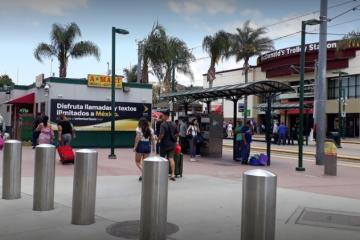 Coronavirus test site installed near border crossing in San Ysidro