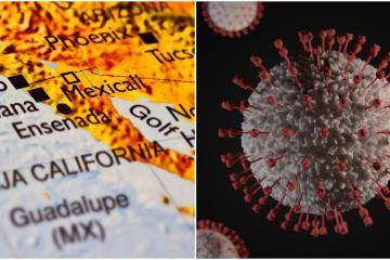 Neighborhoods in Tijuana with active coronavirus cases