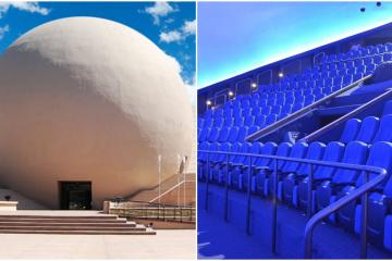 Cecut IMAX Dome will only receive 55 people on its reopening