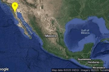 Sismo de magnitud 5.2 sacude a Baja California
