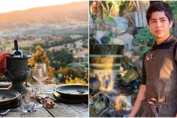 A sus 18 años crea un paraíso gastronómico en Valle de Guadalupe