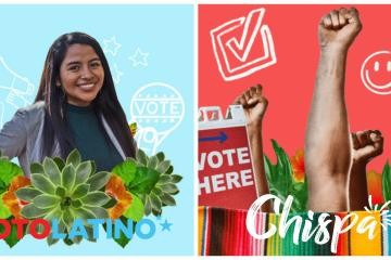 La app de citas Chispa y Voto Latino se unen para motivar a...