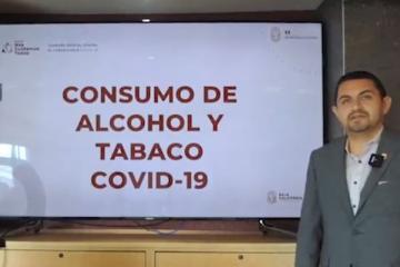 Secretario de Salud invita a evitar el consumo de alcohol y tabaco...