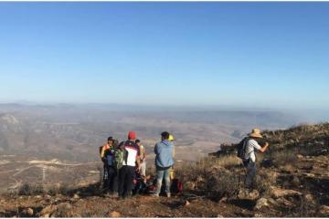 Rosarito Government to fine those who climb Cerro Coronel