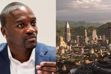 Akon busca construir su propia ciudad inspirada en Wakanda