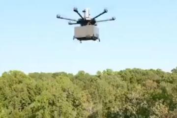 Walmart inicia pruebas de entregas a domicilio con drones