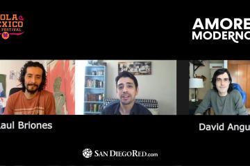 """Entrevista a Raúl Briones y David Angulo de """"Amores..."""